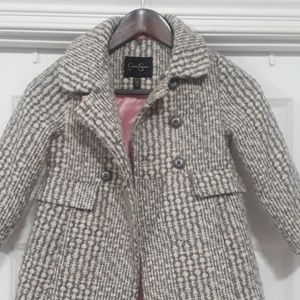 Jessica Simpson girls wool coat